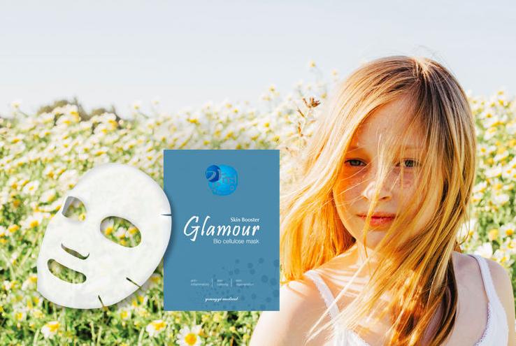 glamour bio-cellulose repair mask